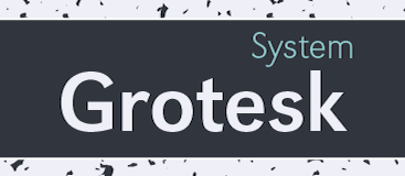 Grotesk Sys-Regular